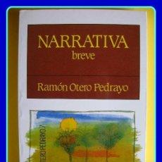 Libros de segunda mano: LITERATURA GALEGA. RAMÓN OTERO PEDRAYO, NARRATIVA BREVE. GALAXIA, 1993.. Lote 40433133