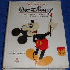 Libros de segunda mano: THE ART OF WALT DISNEY - FINCH - ABRAMS (1ª EDICIÓN 1973). Lote 40671698