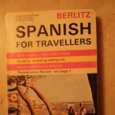 Libros de segunda mano: ESPAÑOL PARA VIAJEROS (EN INGLÉS) (10 X 14 CM). POR TEMAS. 1971.. Lote 41009705