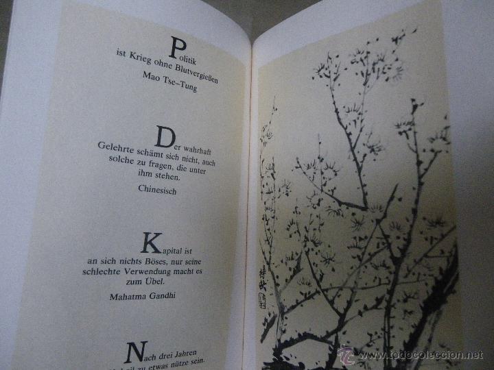 Libros de segunda mano: Sabiduría de Oriente (en alemán), con ilustraciones (ver fotos adicionales), 1978 - Foto 2 - 41030347