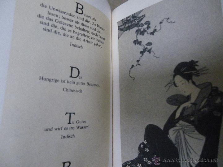 Libros de segunda mano: Sabiduría de Oriente (en alemán), con ilustraciones (ver fotos adicionales), 1978 - Foto 3 - 41030347