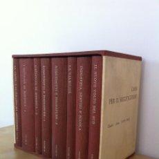 Libros de segunda mano: CASSA PER IL MEZZOGIORNO. DODICI ANNI (1950-1962). 8 TOMOS. EDITORI LATERZA. BARI 1962.. Lote 41040087