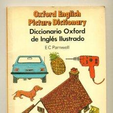 Libros de segunda mano: DICCIONARIO OXFORD DE INGLES ILUSTRADO - PARNWELL , CLARKE, BURROWS. Lote 41451765
