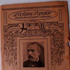 Libros de segunda mano: BIBLIOTECA D'AUTORS CATALANS. POESIES, DE DAMAS CALVET . Lote 41815806