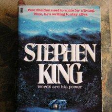 Libros de segunda mano: MISERY DE STEPHEN KING , . Lote 42107642