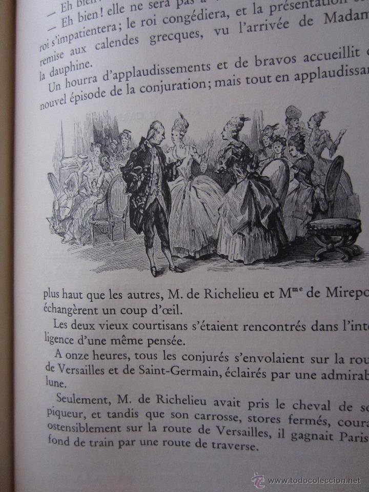 Libros de segunda mano: JOSEPH BALSAMO- MEMOIRES DÚN MEDECIN (TOMO II)-ALEXANDRE DUMAS-LOUIS CONARD -PARIS-1940 - Foto 9 - 42756132
