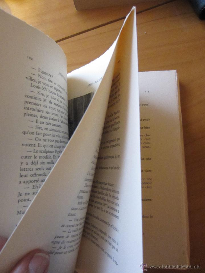Libros de segunda mano: JOSEPH BALSAMO- MEMOIRES DÚN MEDECIN (TOMO II)-ALEXANDRE DUMAS-LOUIS CONARD -PARIS-1940 - Foto 10 - 42756132