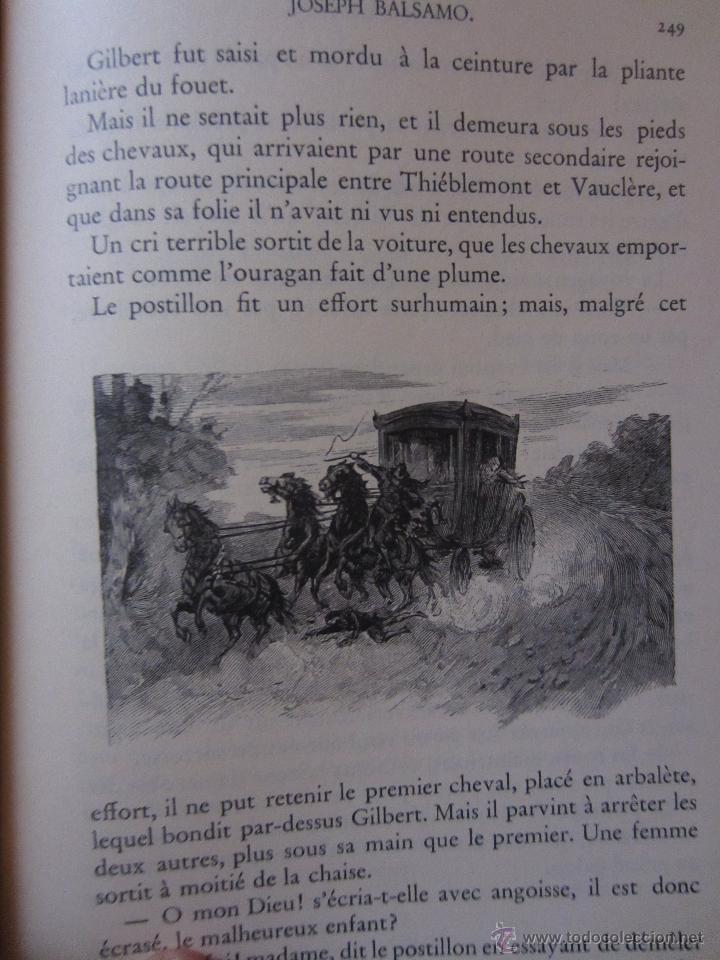 Libros de segunda mano: JOSEPH BALSAMO- MEMOIRES DÚN MEDECIN (TOMO I)-ALEXANDRE DUMAS-LOUIS CONARD -PARIS-1939 - Foto 7 - 42756309