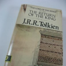Libros de segunda mano: NOVELA THE RETURN OF THE KING J.R.R. TOLKIEN EN INGLES. (THE LORD OF THE RINGS). Lote 42916093
