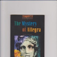 Livres d'occasion: THE MISTERY OF ALLEGRA - PETER FOREMAN - OXFORD BOOKWORMS LIBRARY. Lote 43058330