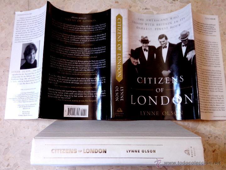 Citizens Of London Lynne Olson The Americans Wh Comprar En