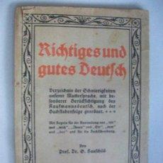 Libros de segunda mano: LIBRO EN CARACTERES GOTICOS EN ALEMAN ...... 64 PAGINAS . LETRA GOTICA, III ª REICH. Lote 43133674