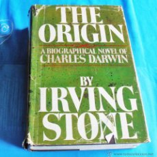 Libros de segunda mano: THE ORIGIN, A BIOGRAPHICAL NOVEL OF CHARLES DARWIN, BY IRVING STONE. Lote 43675283