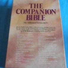 Libros de segunda mano - THE COMPANION BIBLE, THE AUTHORIZED VERSION KJV - 43980179