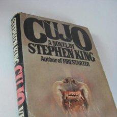 Libros de segunda mano: NOVELA CUJO DE STEPHEN KING, EN INGLES, EDICION AMERICANA 1981.. Lote 44025240