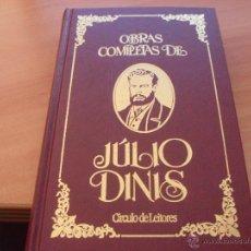 Libros de segunda mano: OBRAS COMPLETAS DE JULIO DINIS. EN PORTUGUES (LB14). Lote 44216363