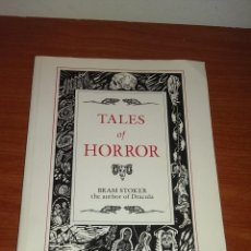 Libros de segunda mano: TALES OF HORROR ( THE AUTHOR OF DRACULA). Lote 44681857