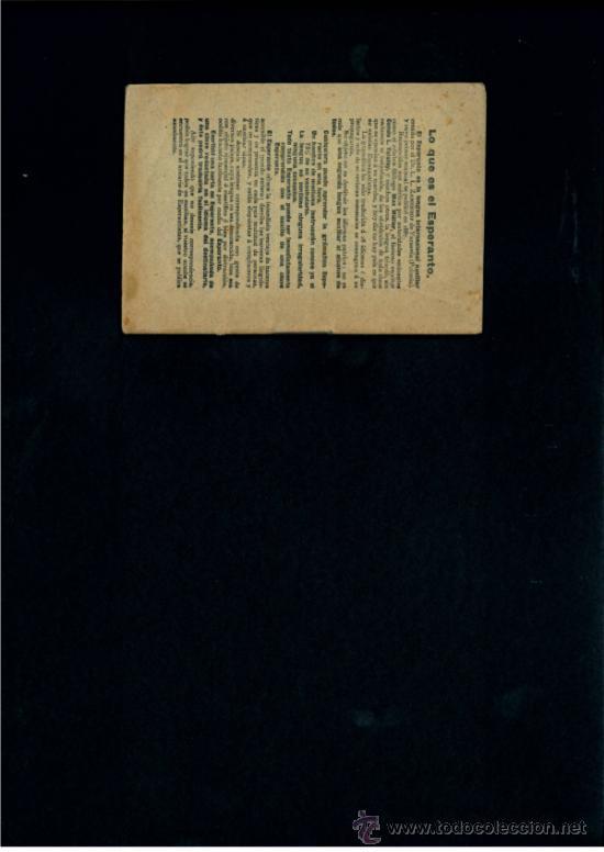 Libros de segunda mano: TODO EL ESPERANTO POR 10 CENTIMOS. HIJOS DE SANTIAGO RODRIGUEZ-BURGOS. - Foto 3 - 45815058