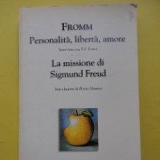 Libros de segunda mano: LA MISSIONE DI SIGMUND FREUD . Lote 46348885