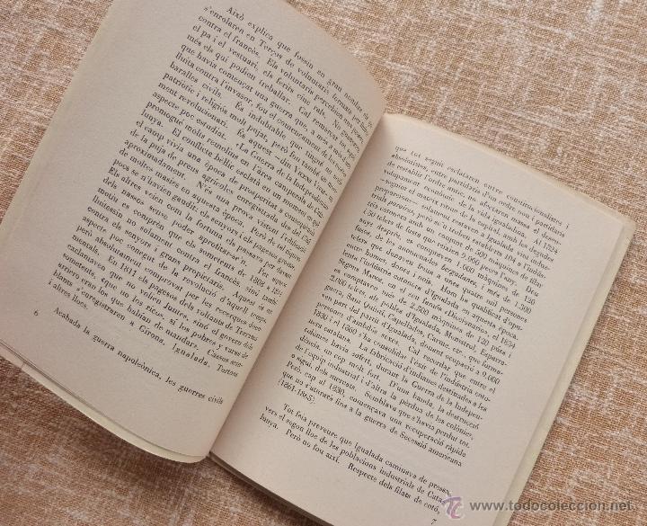 Libros de segunda mano: Els moviments obrers a Igualada durant el Segle XIX, Antonio Carner, Igualada, año 1971, En Catalán - Foto 6 - 47016337