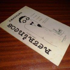 Libros de segunda mano: RETRINCOS (CINCO CONTOS). CASTELAO. EDICIONES CELTA LUGO. 8ªED. 1984. Lote 47148701