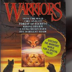 Libros de segunda mano: COMPLETA - WARRIORS: THE FOUR CLANS BOX SET - BOOKS 1 TO 6 (AVON BOOKS,2004) - LOS GATOS GUERREROS. Lote 47469735