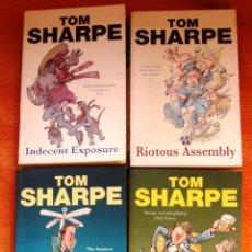 Libros de segunda mano: LIBROS DE TOM SHARPE EN INGLES, 4 UNIDADES. Lote 46080318