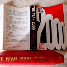 Libros de segunda mano: THE YEAR 2000 AN ANTHOLOGY EDITED BY HARRY HARRISON FABER & FABER FIRST EDITION UK YEAR 1971. Lote 47865633