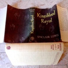 Libros de segunda mano: SINCLAIR LEWIS KINGSBLOOD ROYAL JONATHAN CAPE LONDON FIRST UK EDITION HARDCOVER YEAR 1948. Lote 47920928
