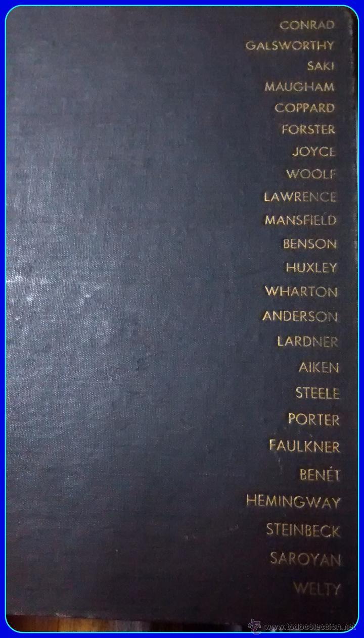 LITERATURA INGLESA Y USA. MASTERS OF THE MODERN SHORT STORY, EDITED BY WALTER HAVIGHURST. HARCOURT (Libros de Segunda Mano - Otros Idiomas)