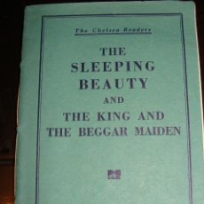Libros de segunda mano: THE SLEEPING BEAUTY AND THE KING AND THE BEGGAR MAIDEN. 1937. Lote 48166061
