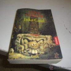 Libros de segunda mano: CLIVE CUSSLER INKA-GOLD ROMAN EN ALEMAN CAJ 170808. Lote 48207223