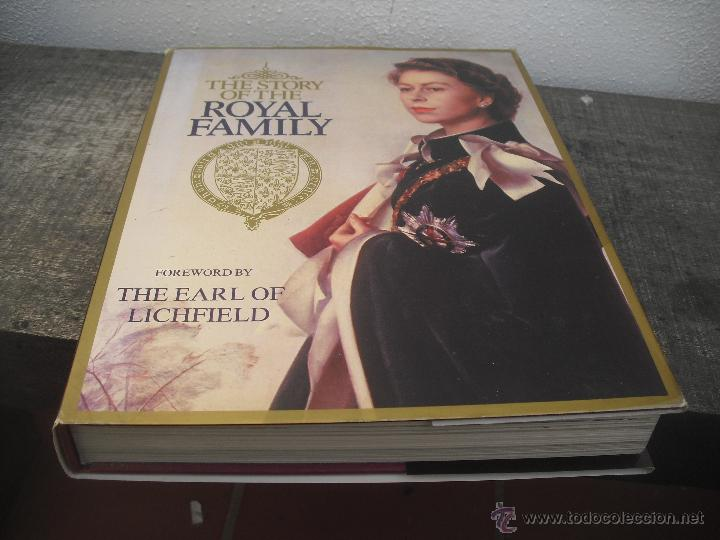 Libros de segunda mano: The Story of the royal Family. Don Coolican 1981..Historia de la familia Real Inglesa. - Foto 1 - 48387604