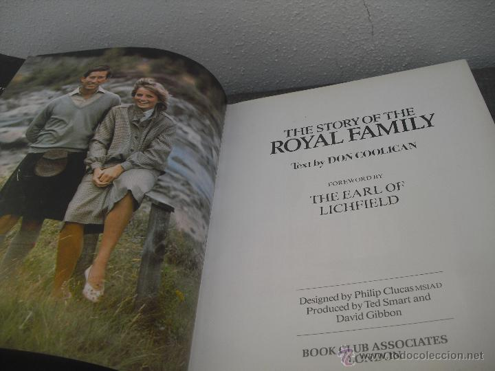 Libros de segunda mano: The Story of the royal Family. Don Coolican 1981..Historia de la familia Real Inglesa. - Foto 13 - 48387604