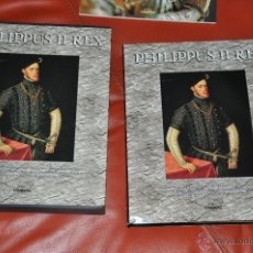 Libros de segunda mano: FELIPE II REY PHILIPPUS II REX DE LUNWERG ESPAÑA 1998 TEXTOS EN CASTELLANO . Lote 48432511