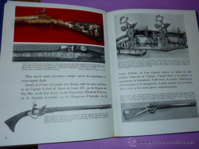 Libros de segunda mano: ARMES DE CHASSE.(ARMAS DE CAZA, BIBLIOFILIA, EN FRANCÉS, 1967) - Foto 6 - 26456010