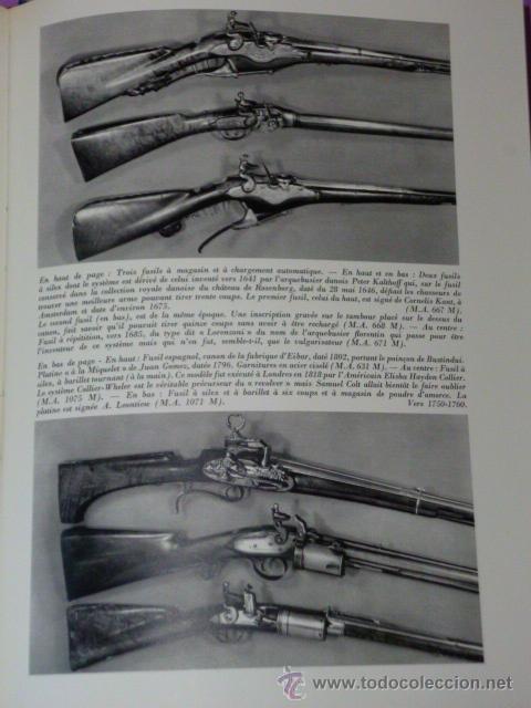 Libros de segunda mano: ARMES DE CHASSE.(ARMAS DE CAZA, BIBLIOFILIA, EN FRANCÉS, 1967) - Foto 7 - 26456010