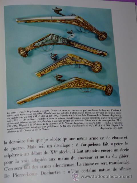 Libros de segunda mano: ARMES DE CHASSE.(ARMAS DE CAZA, BIBLIOFILIA, EN FRANCÉS, 1967) - Foto 8 - 26456010