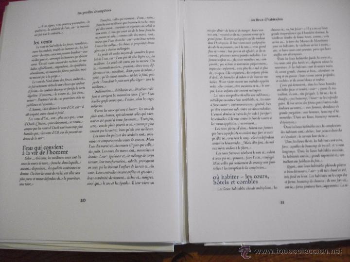 Libros de segunda mano: LES PROFITS CHAMPETRES DE PIERRE DE CRESCENTS - GANACIAS DEL CAMPO CON CAJA EN TELA LAMINAS 1965 - Foto 5 - 49703271