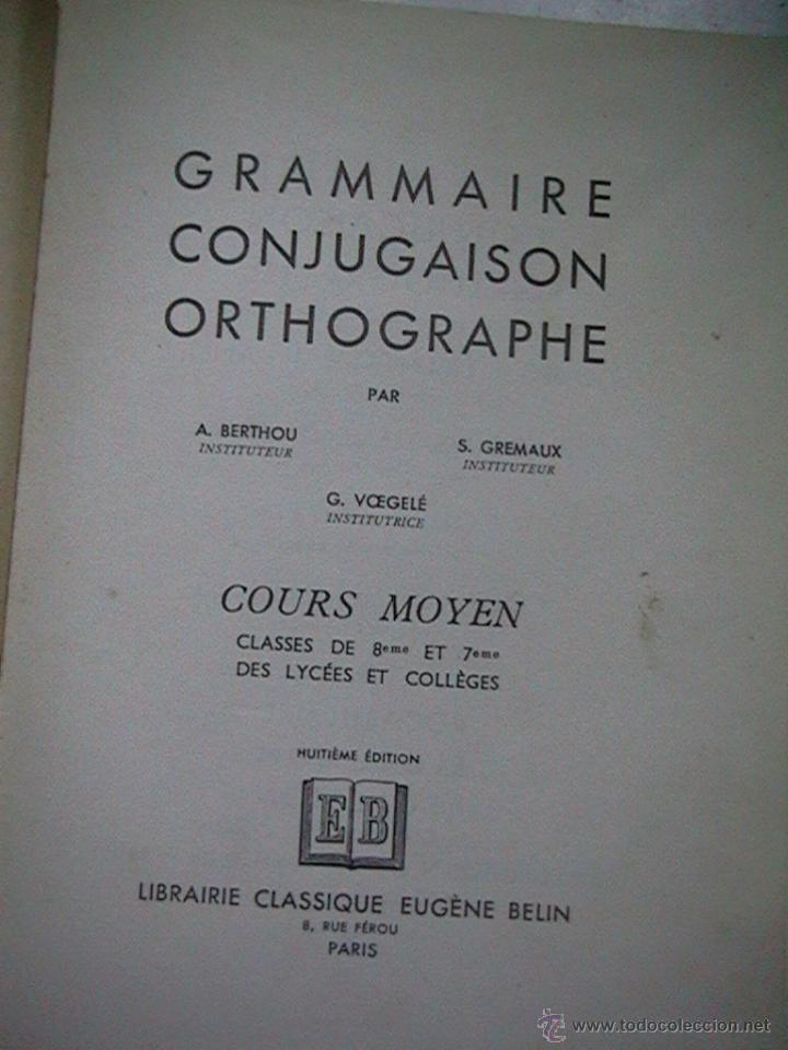 Libros de segunda mano: libro escolar 1951 - Foto 2 - 49764418