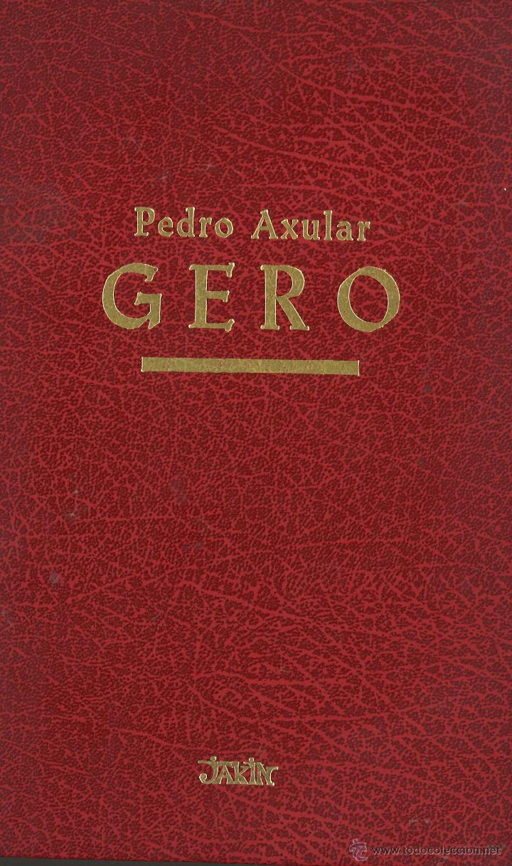 Gero pedro axular en castellano y euskera comprar en todocoleccion 49959976 - Libreria segunda mano online ...