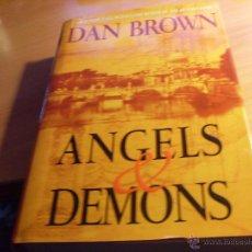 Livros em segunda mão: ANGELS & DEMONS (DAN BROWN) TAPA DURA INGLES . PRIMERA EDICION ATRIA BOOKS (LB25). Lote 50094814