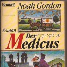Libros de segunda mano: DER MEDICUS - NOAH GORDON . Lote 50255400