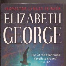 Libros de segunda mano: CARELESS IN RED - INSPECTOR LYNLEY IS BACK ELIZABETH GEORGE. Lote 50260944