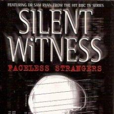 Libros de segunda mano: SILENT WITNESS FACELESS STRANGERS NIGER MC CRERY. Lote 50268984