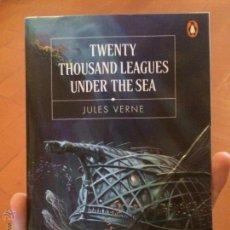 Libros de segunda mano: LIBRO TWENTY THOUSAND LEAGUES UNDER THE SA POR JULES VERNE. Lote 50371045
