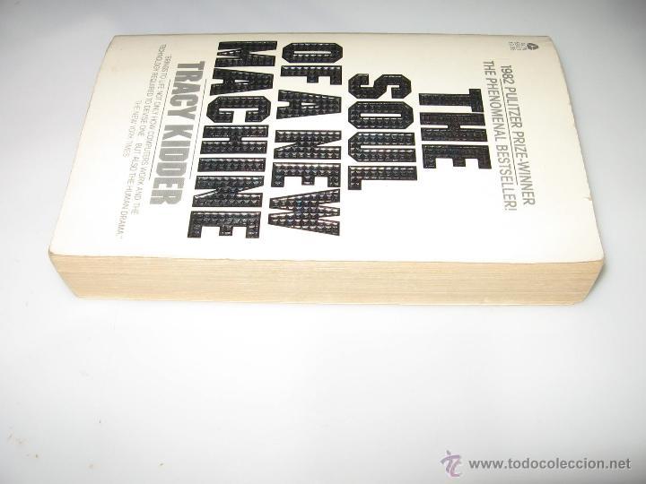 Libros de segunda mano: THE SOUL OF A NEW MACHINE - TRACY KIDDER- EN INGLES - Foto 2 - 50870500