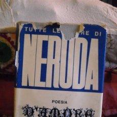 Libros de segunda mano: POESIA D' AMORE.PABLO NERUDA. Lote 51011449
