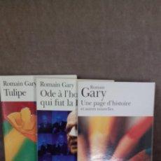 Libros de segunda mano: ROMAIN GARY - UNE PAGE D'HISTOIRE / ODE À LHOMME QUI FUT LA FRANCE / TULIP - FOLIO. Lote 51524277