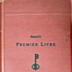 Libros de segunda mano: BERLITZ FRANÇAIS PREMIER LIVRE (390 EDICIÓN). Lote 52320117